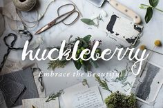The Charming Huckleberry Font  @creativework247