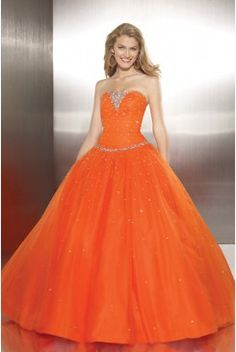 Strapless Ball Gown Sequined Accented