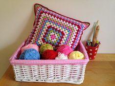 Summer Granny Cushion ~ a free crochet pattern by Crafty Cruella