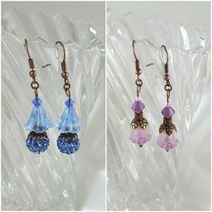 Handmade vintage inspired earrings from K. Affordable Jewelry, Vintage Earrings, Wire Wrapping, Making Ideas, Vintage Inspired, Handmade Jewelry, Jewelry Making, Drop Earrings, Beads