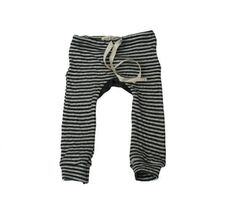 Striped Double-Sided Drawstring Leggings for baby, from Mabo Kids