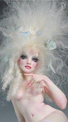 ANTOINETTE JUBILEE - Rococo pin up ooak by Nicole West