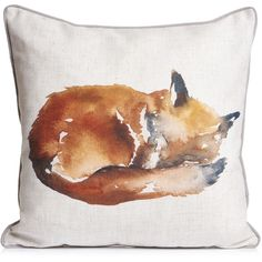Wilko Fox Cushion 43x43cm ($9.07) ❤ liked on Polyvore featuring home, home decor, throw pillows, outside home decor, outdoor accent pillows, inspirational home decor, inspirational throw pillows and outdoor throw pillows