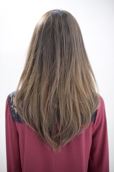 I like my natural hair color and the long length but I want a different style, this is simple and plain