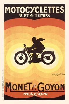 Vintage Advertising Posters | Motorcycles