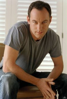 Jason Isaacs. Lord have mercy on me, this man is SO sexy, and has gorgeous eyes.