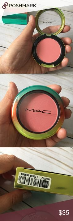 MAC Cosmetic Wash & Dry Powder Blush in Hipness - MAC Wash & Dry Powder Blush in Hipness  - Limited Edition - Brand New in Box, Authentic - 6g /0.21oz - Made in Canada MAC Cosmetics Makeup Blush