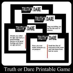 Sexy truth or dare generator