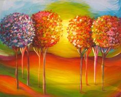 Tree of Love by Natasha Tayles | acrylic painting | Ugallery Online Art Gallery