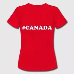 Hashtag Canada Shirt  - Frauen T-Shirt