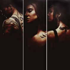 Divergent / Tris Prior / Tobias Eaton / Tori Wu / Tattoos