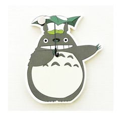 Cute sticky notes, Bookmark, Totoro sticky notes, Totoro, my_neighbor_totoro by PokemonGarden on Etsy https://www.etsy.com/listing/246880017/cute-sticky-notes-bookmark-totoro-sticky