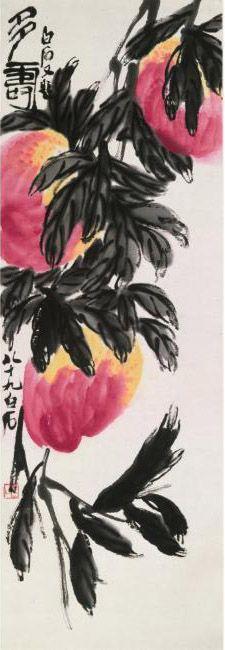 Qi Baishi 1864 1957 Peaches