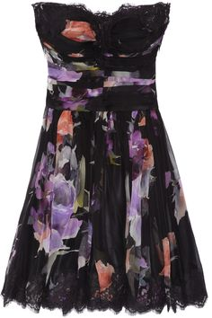 Love the flower print.... Dolce and Gabbana
