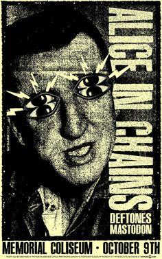 Nat Damm, Alice In Chains - Deftones - Mastodon, 2010