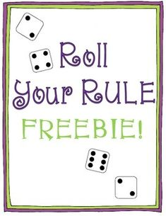 Roll Your Rule Freebie   I created this activity after teaching my students about creating and interpreting numerical patterns. Students then got into partners and rolled dice to generate various numerical patterns.   I have included 5 versions of this activity: addition, subtraction, multiplication, division, and mixed operations.