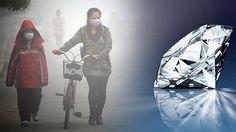 ¿Diamantes de humo?: China convertirá su contaminación tóxica en piedras preciosas.