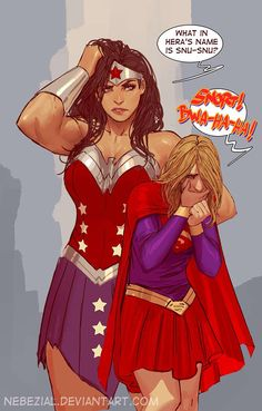 Wonder Woman and Supergirl by Stjepan Sejic