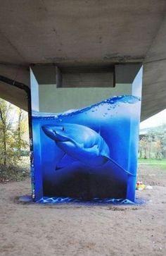 こんな落書きなら大歓迎!その発想はなかった芸術的なストリートアート14選 | CuRAZY