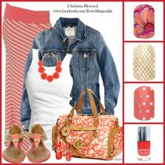 Complete this summer look with Jamberry Nails. www.melisimpson.jamberrynails.net