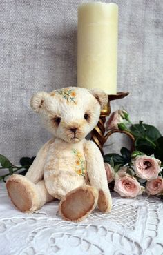 PDF Pattern  Tea Rose  Artist Teddy Bear by TashkasBears on Etsy, $12.00 by Wigsbuy-reviews