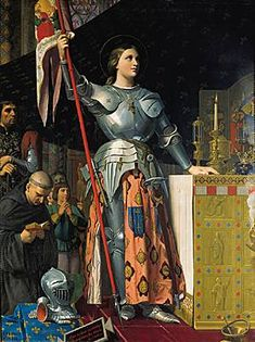 Ingres, Joan of Arc at the coronation of Charles VII in Reims Cathedral