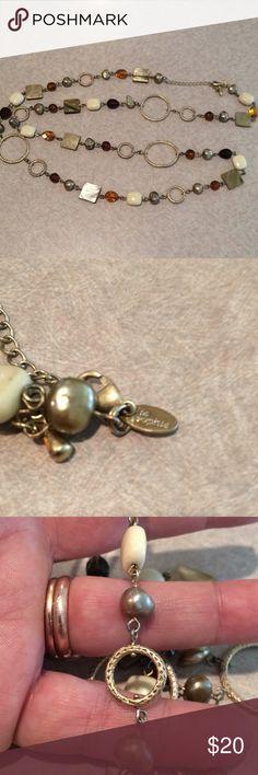 Lia Sophia necklace Large necklace gold tone Lia Sophia Jewelry Necklaces