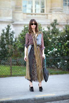 Saint Laurent dress   - HarpersBAZAAR.com