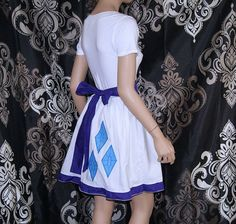 My Little Pony Rarity summer Dress Cosplay Costume by mtcoffinz