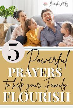 Prayer For My Family, Prayer For My Children, Raising Godly Children, Powerful Prayers, Prayers For Healing, Healing Prayer, Christian Families, Christian Women, Christian Living
