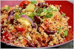 Salade de Quinoa à la Brésilienne, vinaigrette Téquila & Citron Vert