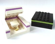 LEGO Ring Gift Box, for best man day of? Red/White? We could probably make this ourselves...