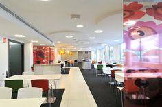 Cafeteria architectured by Cléram. #style #design #bureau #architecture #aménagement #workspace #coolworking #interior #deco #Cléram #art #office #idea #conception #company #work #goodvibes #entreprise #cafeteria #coffee #mealtime #repas