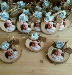 Discover thousands of images about Fotoğraflı Bebek Magnet - Baby Baptism, Baptism Party, Christening, Baby Decor, Baby Shower Decorations, Baby Crafts, Diy And Crafts, Baby Shawer, Kids And Parenting