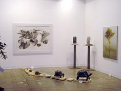 Miart, art fair in Milan. Salamon's stand. Artists exhibited: Luciano Zanoni, Ivan Zanoni, Marzio Tamer, Gianluigi Rocca,  Veronica van Eyck