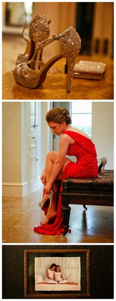 prom shoes, prom dresses, prom hair, prom makeup, red, North Texas Dallas  photography