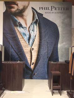 PHIL Petter auf der Premium Berlin Knit World, Knitwear, Berlin, Blazer, Knitting, Jackets, Men, Fashion, Down Jackets