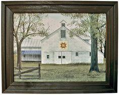 Starburst Quilt Barn, Summer - Kruenpeeper Creek Country Gifts