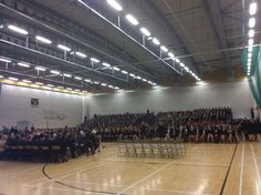 The first Routh Assembly of the Michaelmas term at Bromsgrove School.