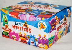 Magic Box STAR MONSTERS Series 2 Pocket Friends, Box of 30 Blind Packs, Brand New