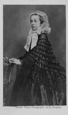 Archduchess Marie Henriette of Austria, Princess of Hungary and Bohemia and Queen of Belgium – Royal Photography, European History, Marriage, Victorian, Hungary, Austria, Royals, Princess, Clothes For Women