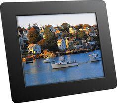 """Aluratek - 8"""" LCD Digital Photo Frame - Black"""