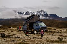 Around the World in a Volkswagen Westfalia . This will happen Bus Vw, Vw T3 Camper, Camper Life, Camper Van, Vw T3 Doka, Volkswagen Westfalia, Motorhome Vintage, Wolkswagen Van, Vw Caddy Mk1