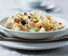 Mediterranean Chicken and Pasta #recipe #food #recipes #chicken #pasta #Mediterranean #foodrecipes #recipefood