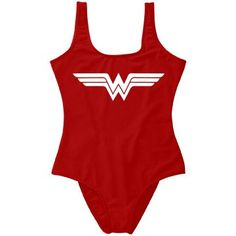 eeafb58154 Wonder Woman Parody One Piece | Look trendy and feel powerful at the beach  and pool. Customized Girl