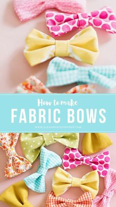 We have a ridiculous obsession with bows around this house. Ellie loves picking out a matching (and sometimes not so matching) bow in the...