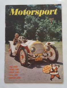 Hot Rod - December, 1951 Back Issue for sale online Sport Cars, Race Cars, Hot Rods, Christmas Cover, Watkins Glen, Nascar, Antique Cars, Classic Cars, Teddy Bear