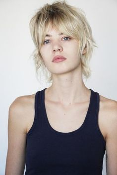 Today we have the most stylish 86 Cute Short Pixie Haircuts. Pixie haircut, of course, offers a lot of options for the hair of the ladies'… Continue Reading → Mullet Haircut, Mullet Hairstyle, Pixie Haircut, Party Hairstyle, Short Shag Hairstyles, Cool Hairstyles, Beautiful Hairstyles, Medium Hair Styles, Curly Hair Styles