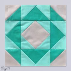 Patisserie is a Block Of The Month sampler quilt that has been exclusively designed to use with the Accuquilt GO! Half Square Triangle Quilts Pattern, Half Square Triangles, Patchwork Patterns, Quilt Patterns, Blue Donuts, Cube Pattern, Sampler Quilts, Block Of The Month, Baby Quilts
