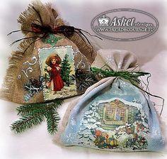 Christmas presents bags